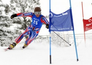 Steamboat skier Charlie Dresen skis Friday in a sprint classic Telemark event in Steamboat Springs. He finished second in the event. Shane Anderson placed first. Photo by Joel Reichenberger