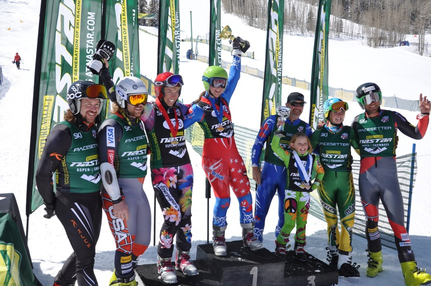2014 Nastar Lyta podium w USSA Team members