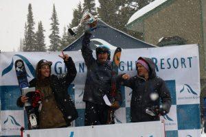 2016 Free Heel Life Cup Podium: Ty Dayberry, Paul Kimbrough, Spencer Jonas